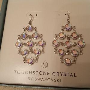 TCS Aurore Boreale beautiful earrings dangle